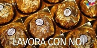 Ferrero lavora con noi. Nuove assunzioni: posizioni aperte