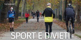 Nuovo DPCM: sport zona rossa e arancione. Regole e divieti