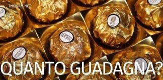 Quanto guadagna un operaio Ferrero in Italia
