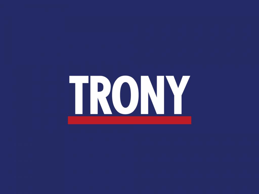 Trony lavora con noi: il logo dell'azienda.