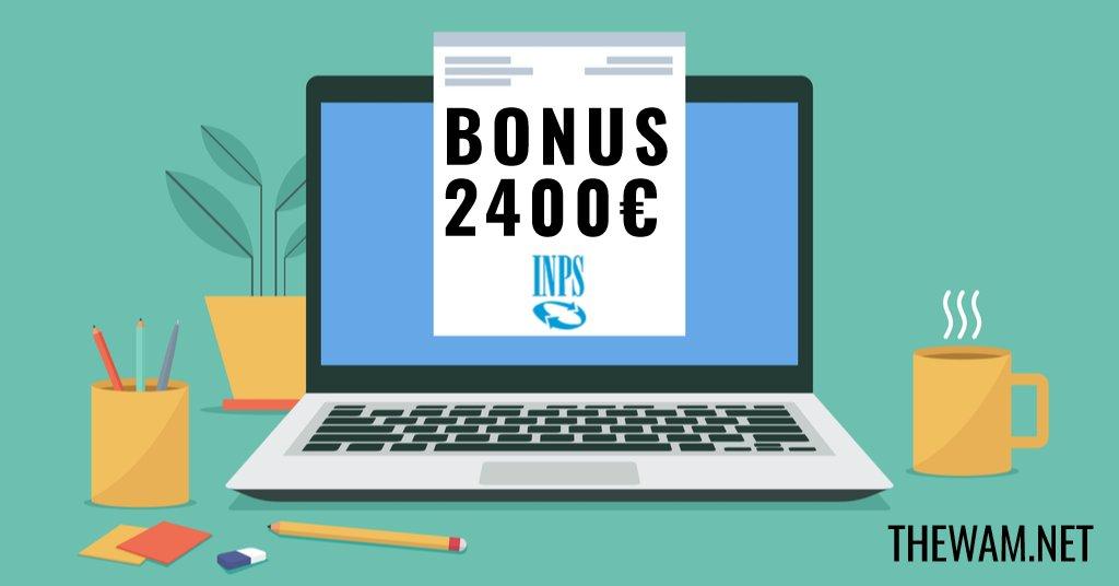 Bonus 2400 euro, domanda online attiva: la guida illustrata