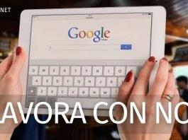 Google lavora con noi Italia: i posti ad aprile 2021