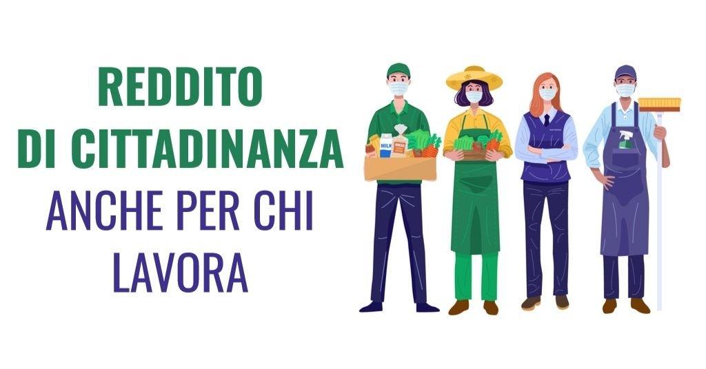 Reddito di Cittadinanza per chi lavora: cosa cambia nel 2021