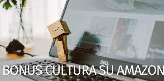 Bonus cultura su Amazon
