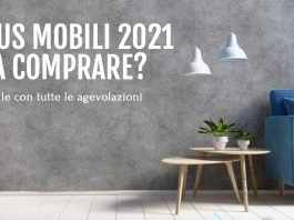 Bonus mobili 2021, limite a 16mila euro cosa puoi comprare