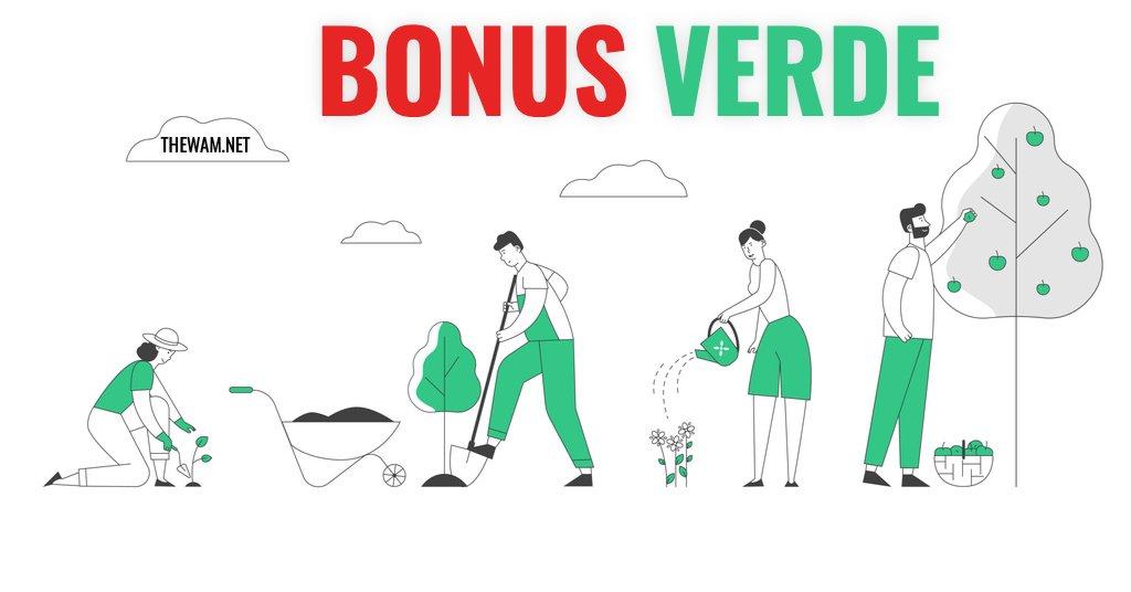 Bonus verde 2021