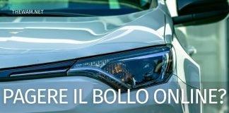 Pagamento bollo auto online