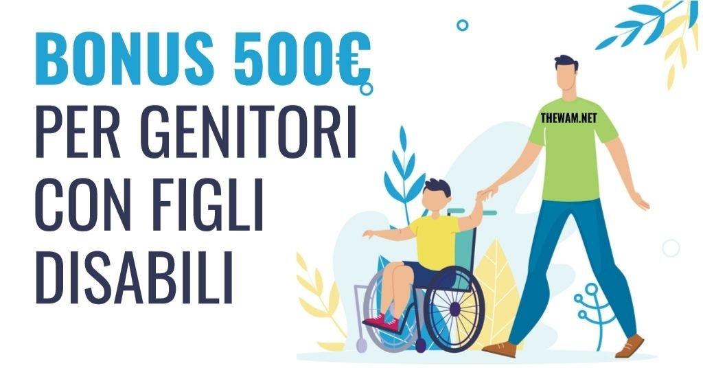 Decreto Sostegni, nuovo bonus 500 euro per figli disabili