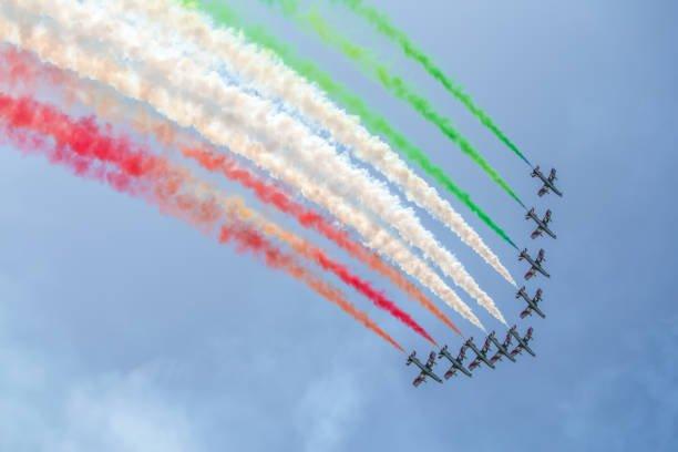 Le frecce tricolori italiane