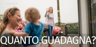 Stipendio baby sitter in Italia