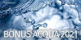 Bonus acqua potabile: a chi spetta, importo e modalità di domanda
