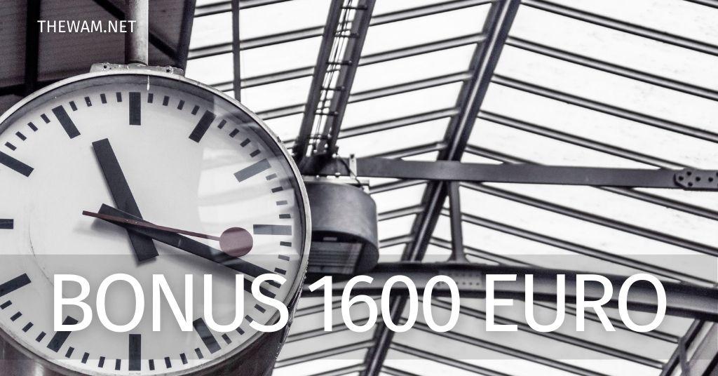 Pagamento Bonus 1600 euro in arrivo: come controllare la data di accredito