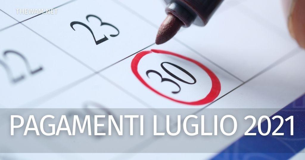 Pensioni, RdC, Naspi, Rem, Bonus: le date previste per i pagamenti di luglio