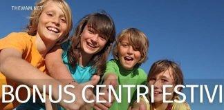 Bonus centri estivi 2021: importo ed esclusi