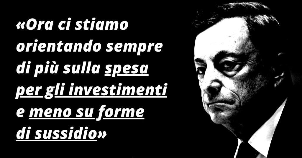 Draghi: meno bonus, più investimenti. Che succede da luglio
