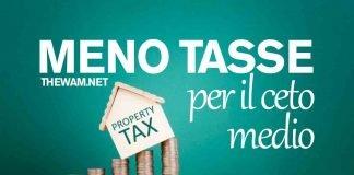 Meno tasse per il ceto medio: la nuova riforma del fisco