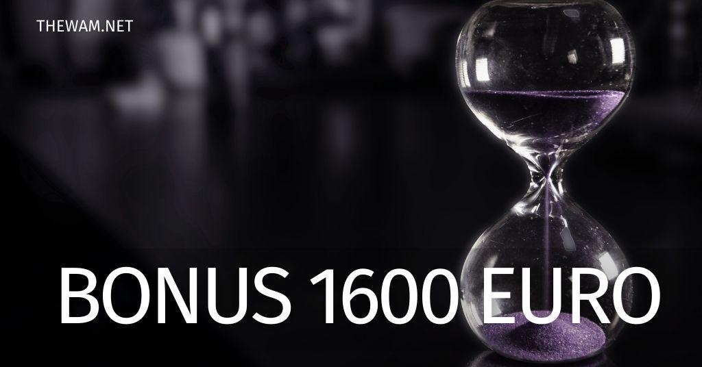 Bonus 1600 euro: quando arriva il pagamento? Presto le date