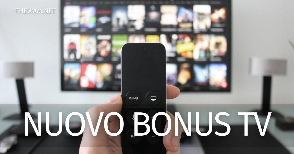 Bonus tv requisiti e domanda: il nuovo incentivo al via