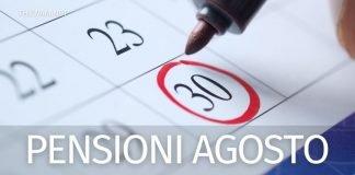 Pagamento pensioni agosto 2021: prime date