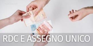 Reddito di cittadinanza con assegno unico il 15 luglio?