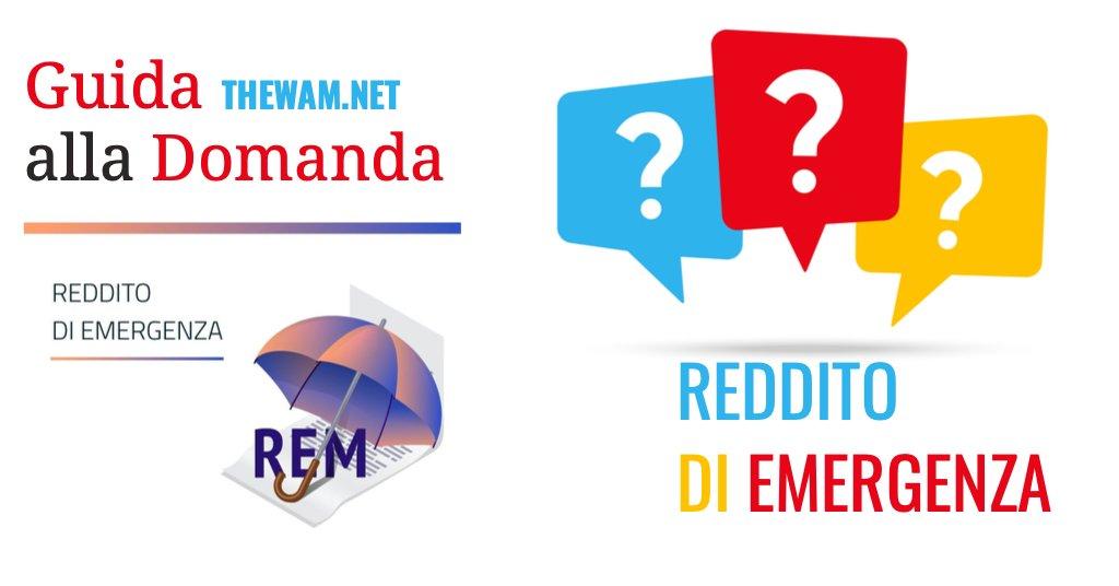 Reddito di emergenza 2021 domanda come fare richiesta online