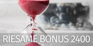 Riesame Bonus 2400 euro: quando arrivano?