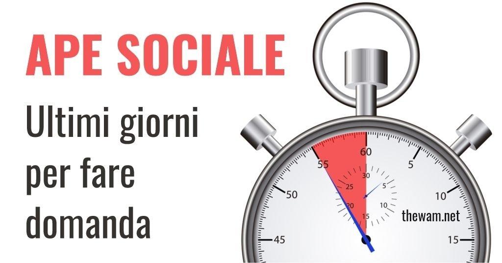 APE Sociale, corsa alle domande. Scadenza il 15 luglio