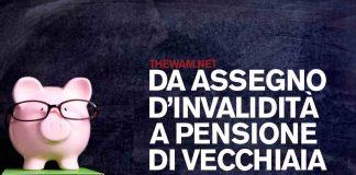 L'assegno di invalidità diventa pensione di vecchiaia