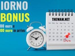 bonus 1600 euro bonus 2400 euro pagamento oggi