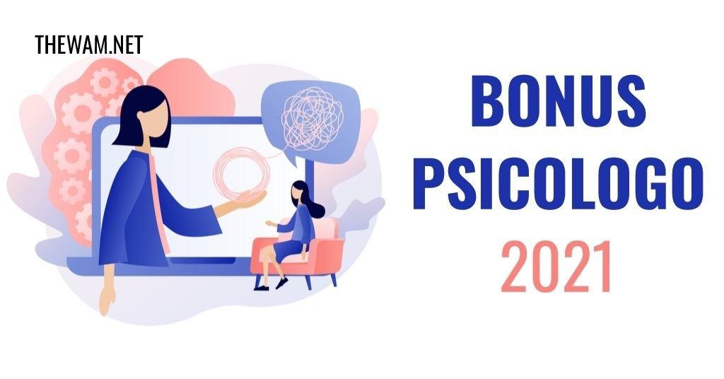 Bonus Psicologo 2021, cos'è e come funziona