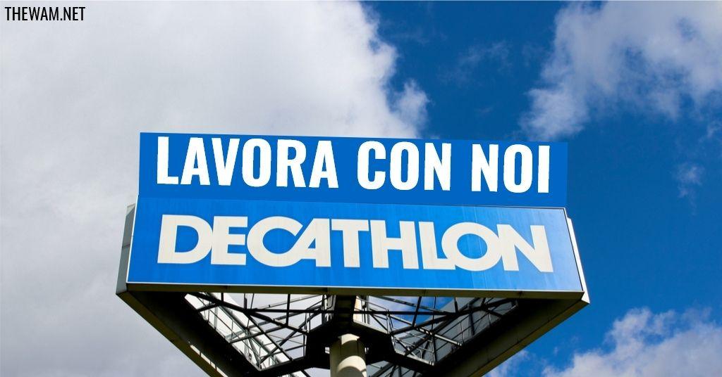 Decathlon lavora con noi: posizioni aperte a luglio 2021