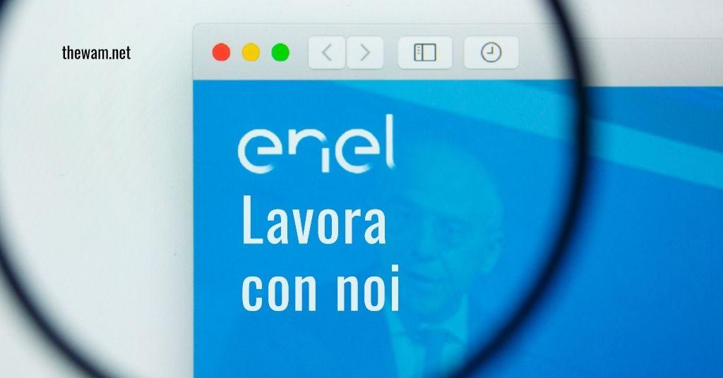 Enel lavora con noi: posizioni aperte a luglio 2021