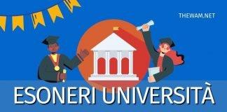 Esonero tasse universitarie 2021: chi ne ha diritto?