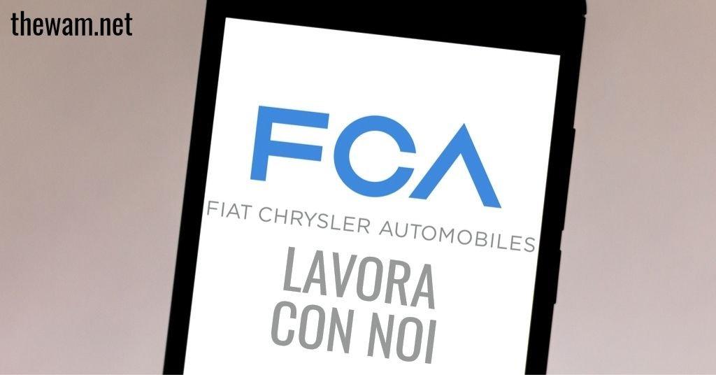 Fiat lavora con noi: posizioni aperte a luglio 2021