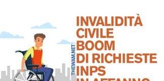 Invalidità civile, boom di richieste: Inps in difficoltà