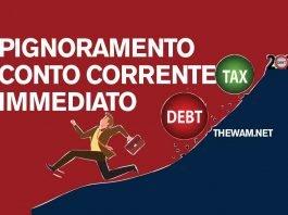 Pignoramento del conto corrente: sarà facile e rapido