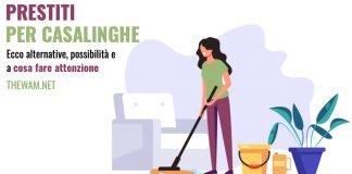 prestito per casalinghe importi e requisiti