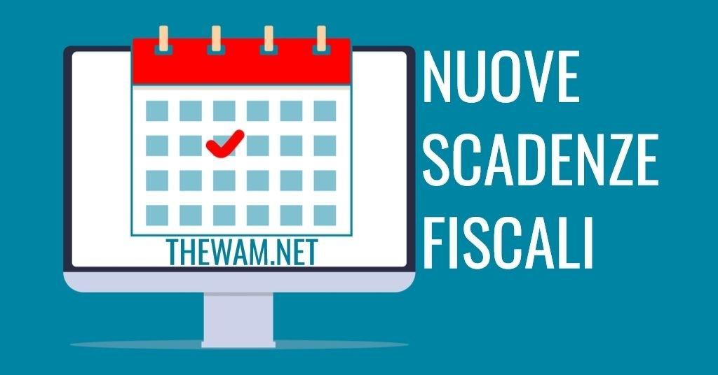 Scadenze fiscali 2021, nuova proroga nel Sostegni Bis