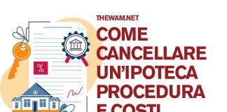Come cancellare un'ipoteca: procedura e costi