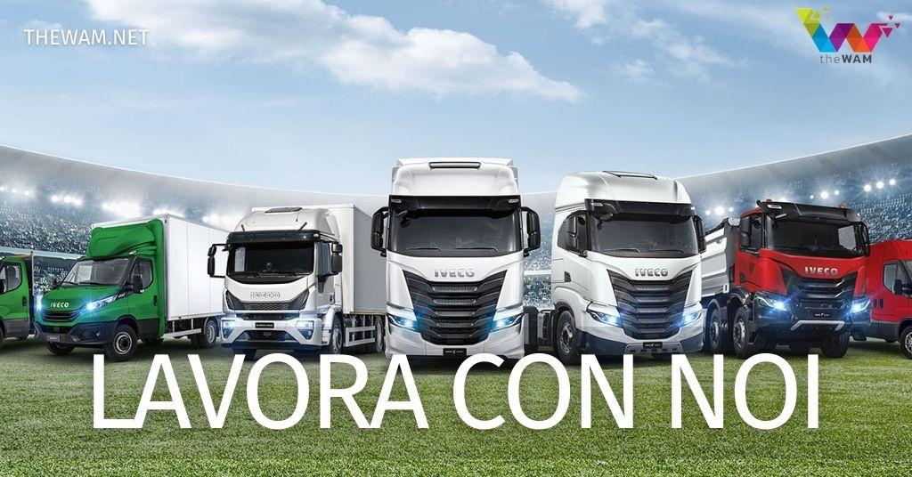 Iveco lavora con noi: posizioni aperte agosto 2021