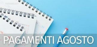Pagamenti agosto 2021: pensioni, Rdc, Naspi, Rem e Bonus