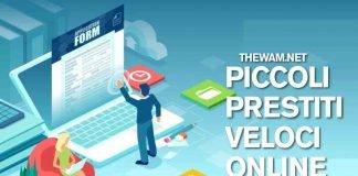 Richiesta di finanziamento online: piccoli prestiti veloci