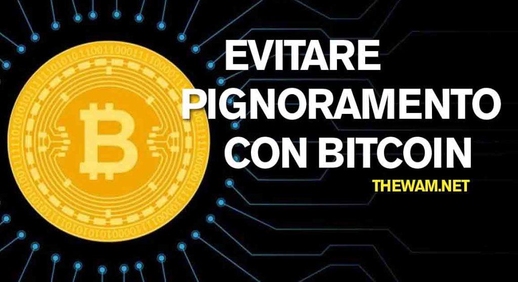 assegno di deposito conto bitcoin