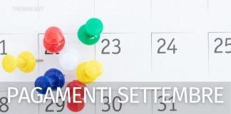 Stato pagamenti Inps settembre: data accredito pensioni, Rdc, Naspi, Rem e Bonus