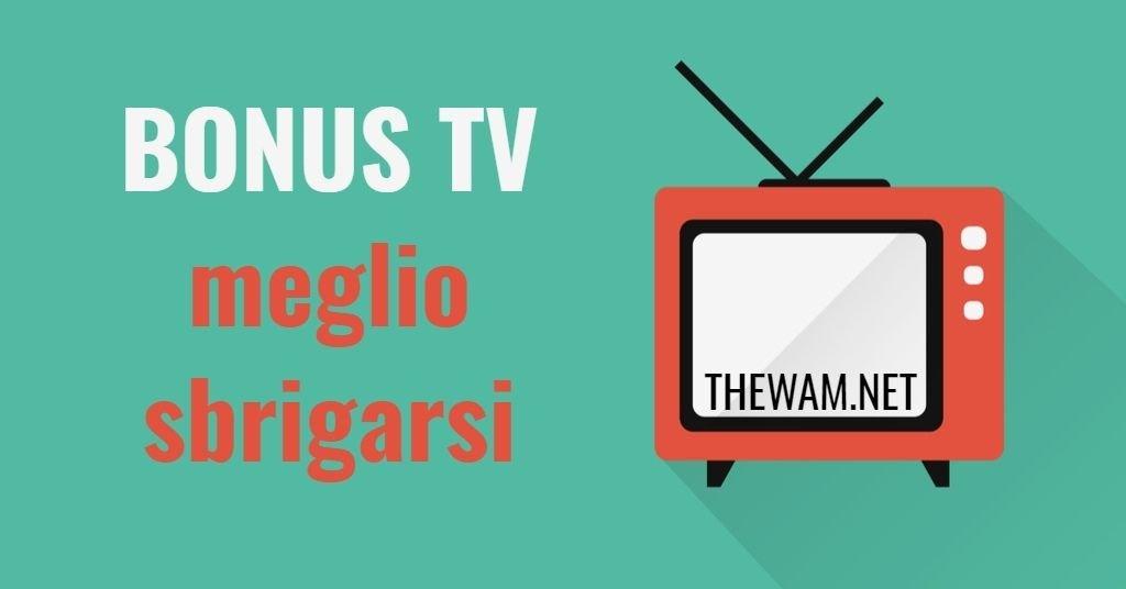Bonus tv da lunedì, niente per chi ritarda. Come prepararsi