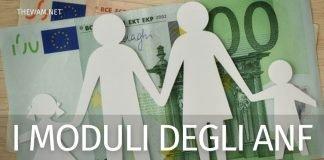 Modulo assegni familiari 2021: come richiederli subito
