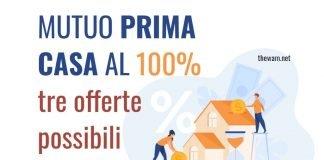 Mutuo al 100% per la prima casa agli under 36. Tre offerte