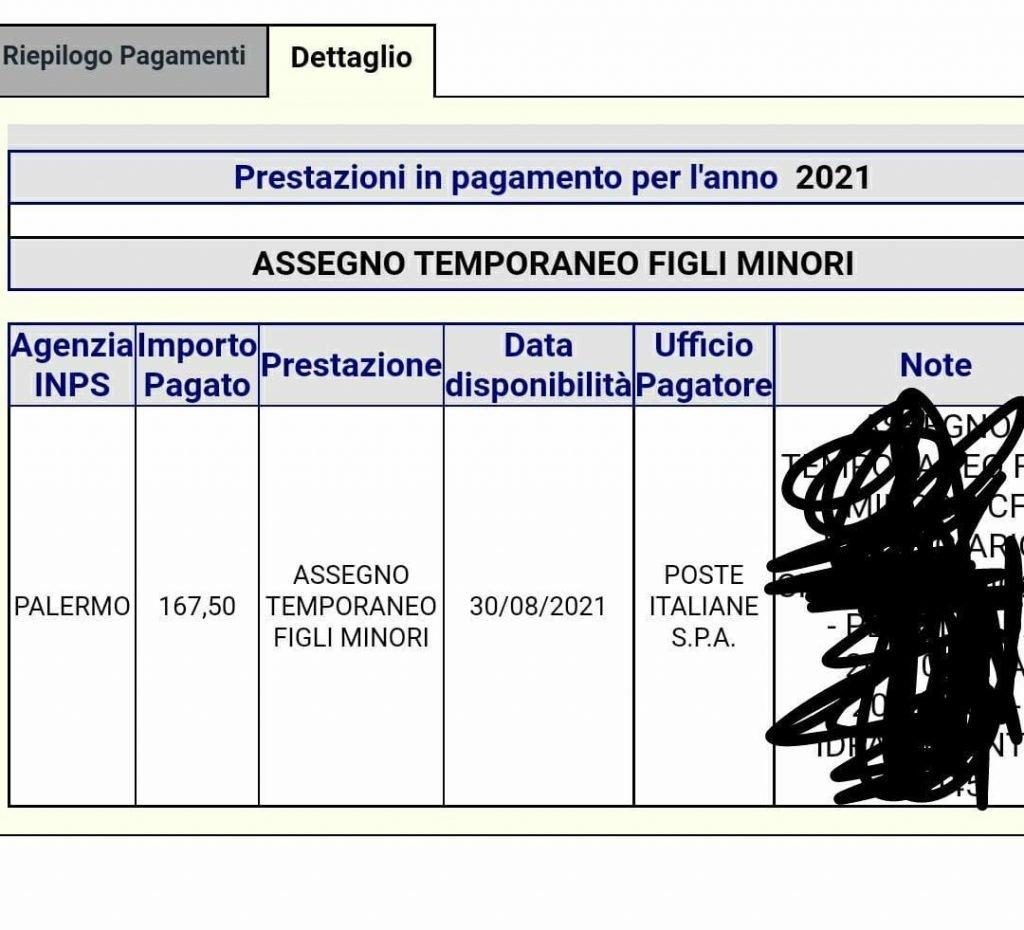 pagamenti assegno unico 2021 date agosto