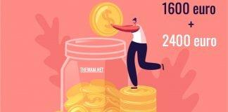 pagamenti bonus stagionali 1600 euro 2400 euro date agosto