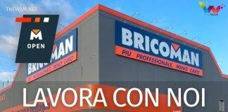 Bricoman lavora con noi: posizioni aperte settembre 2021